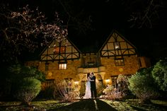 """The winding staircase and shadow-filled archways at TheCloisterscreated the perfect backdrop for Matt and Kim's spy-themed wedding! This fun-loving couple encouraged their guests' playful personalities to shine though by serving signature martini drinks like """"Black Ops"""" ..."""