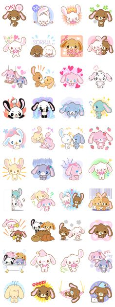 画像 - Sugarbunnies by Sanrio - Line.me