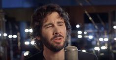 American singer Josh Groban was only four years old when the English version of Les Mis premiered, so the now-superstar grew up listening to Claude-Michel Shonberg's gorgeous music from the show.