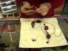 How to: Beading Coconut Tagua Jewelry Model ct0052 | EcuadorianHands.com    Ma. Fernanda Mendez: Tagua Store | EcuadorianHands.com teaches how to bead a ecofriendly necklace using tagua bead and coconut bead.
