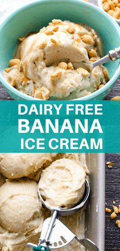Creamy frozen bananas blended with a little peanut butter, almond milk and a hint of vanilla. Comes together in minutes, only 150 calories per serving and absolutely delicious! Dairy Free Vanilla Ice Cream, Sugar Free Ice Cream, Almond Ice Cream, Ice Cream Freeze, Best Ice Cream, Nice Cream, Is Almond Milk Healthy, Banana Ice Cream Healthy, Homemade Ice Cream