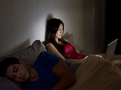 Using Lights at Night – Side Effects of Electronics Before Bed - Woman's Day