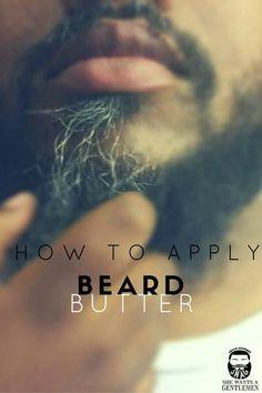 How to Apply Beard Butter or Beard Oil