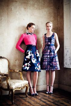 Erdem. Either of these. Or, really, just about anything from Erdem.