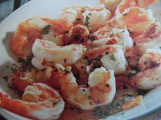 Gamberi con aglio e peperoncino, ricetta brucia grassi