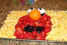 Elmo Fruit Platter