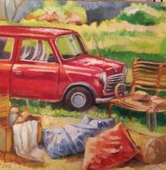 Oil on canvas South African Artists, Vintage Cars, Oil On Canvas, Study, Children, Painting, Art, Young Children, Studio
