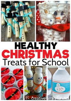 These fun and healthy Christmas treats for school are all made from store-bought treats and are perfect for classroom parties. These fun and healthy Christmas treats for school are all made from store-bought treats and are perfect for classroom parties. Christmas Classroom Treats, Healthy Christmas Treats, Christmas Party Snacks, School Christmas Party, Preschool Christmas, Toddler Christmas, Christmas Sweets, Xmas, Christmas Kitchen