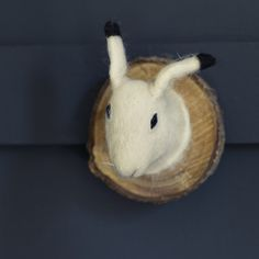 Felted Animal Head, Hester Hare