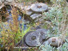 Hypertufa Millstone - largest garden feature yet