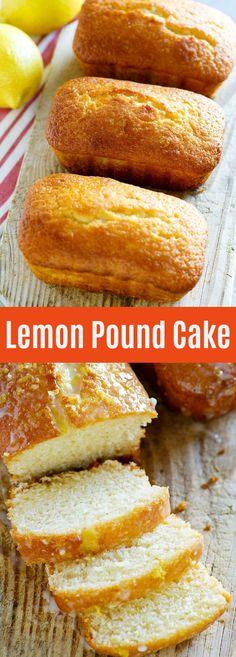 Lemon Pound Cake – buttery, sweet and lemony pound cake with sugary glaze. This lemon pound cake recipe is so good you'll want it every day | rasamalaysia.com