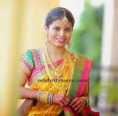 Bride in Sequins Dual Color Blouse