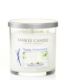 Yankee Candle 'Happy Anniversary' Small Tumbler:£9.99- FREE DELIVERY at The Fabulous Gift Store