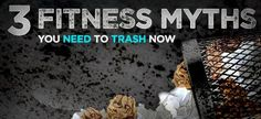 Did you know about these 3 Biggest Fitness Myths?