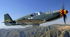 P-51B Mustang 43-24823 Old Crow made by Cal Pacific Airmotive Inc.