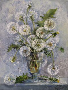 Oksana Art    #Still life    #Dandelions.