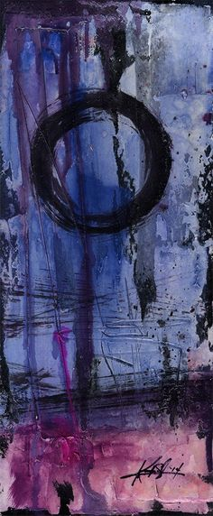 Enso.. Series ... No. mm19.. Original by Kathy Morton Stanion