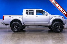 """2010 Nissan Frontier PRO-4X 4x4 Truck For Sale with Brand New 6"""" Fabtech Lift, Fuel Wheels and Trail Grapplers 