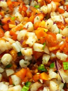 Skinny taste shrimp salsa!