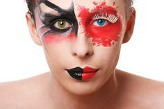 Kontaktlinsen an Karneval