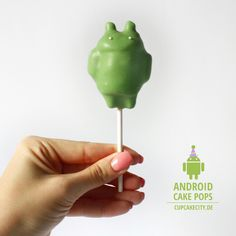 Android Cake Pops