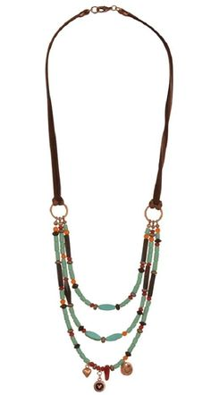 Liese's Dream DIY Necklace   This is a gorgeous boho chic necklace that you are going to fall in love with! The beading design is stunning and Southwest inspired!