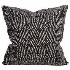 Petite Zig Zag Pillow $64.00