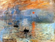 Impression: Sunrise, Claude Monet