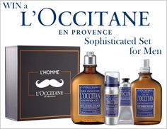 Win a Sophisticated L'Occitane Set this is awesome sensual and aromatic