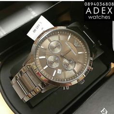 Emporio Armani Mens Watches, Michael Kors Watch, Watches For Men, Sport, Accessories, Top Mens Watches, Deporte, Men's Watches, Sports
