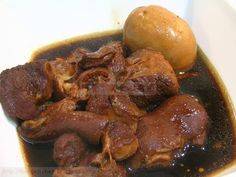 酱油猪肉 - Soy Bean Sauce Pork