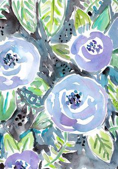 Gardens of Montclair Art Print