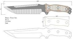 Чертежи ножей для изготовления. Часть 2   LastDay Club image 8