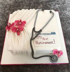 Retirement Cake by Charlotte