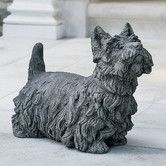 Found it at Wayfair - Angus Scotty Dog Statue
