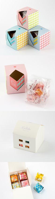キュベット/CuBette「フィユテ」 Let's take a snack break #packaging PD