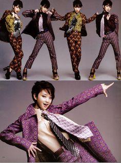 WWD JAPAN 2012 FALL 「Leslie Kee × 剛力彩芽」「SUPER 流行通信」   Super Sonic