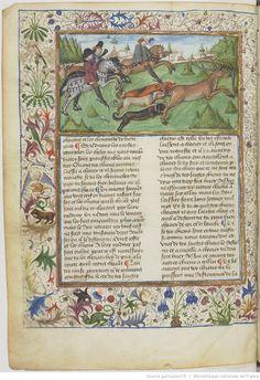 Henri de Ferrières, « Le Livre du roy Modus et de la royne Racio, qui parle des deduis et de pestilence ».