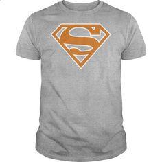 Superman Brunt Orange & White Shield  - #sweatshirt upcycle #sweatshirt tunic. CHECK PRICE => https://www.sunfrog.com/Geek-Tech/Superman-Brunt-Orange-amp-White-Shield-.html?68278