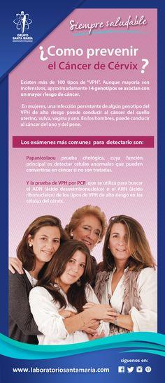 ¿Cómo prevenir el cáncer de cérvix? #cancer #vph