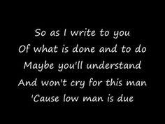 Low Man's Lyric - Metallica