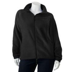 Columbia Solid Fleece Jacket - Women's Plus