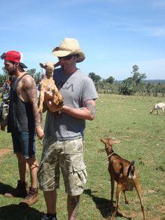 Hedley in Kenya
