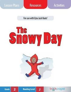 """This set of lesson plans, resources, and activities is for use with """"The Snowy Day"""" by Jack Ezra Keats. It can be used for whole group, small group, and independent instruction - which makes these resources a smart choice for literacy centers or"""
