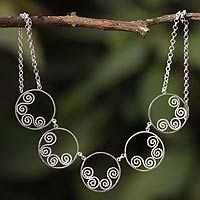 Circle Swirls from @NOVICA, They help #artisans succeed worldwide.