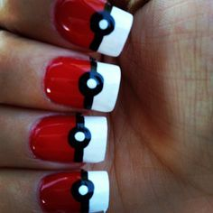 My Pokemon nails (: