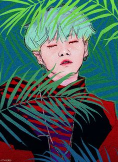 Yoongi // BTS FANART