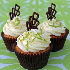 Pina Colada Cocktail Cupcakes Recipe | BakingMad.com