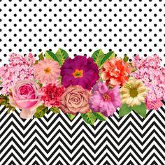 Almofada Floral, Poá e Zigzag do Studio Juzimmermann por R$60,00