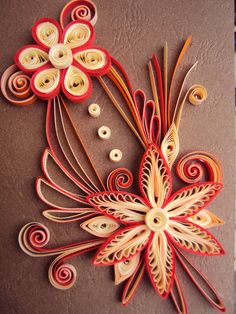 quilled flower card- http://quillingboutique.blogspot.ro/